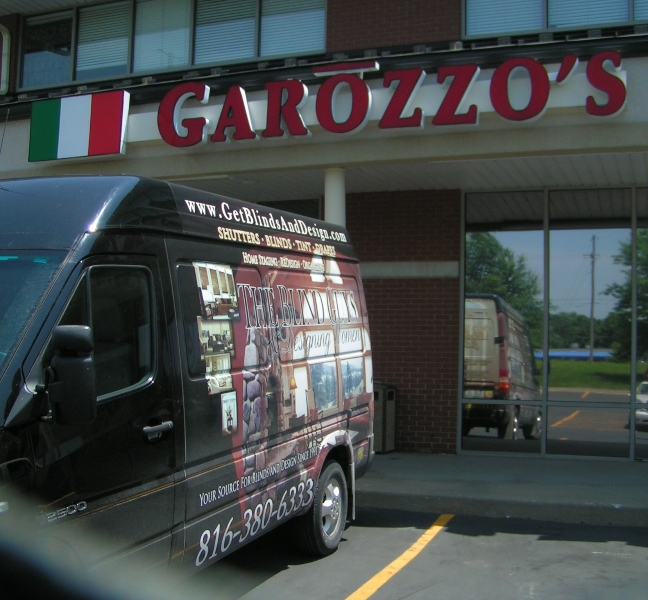 New Shades for Garozzo's Famous Italian Restaurants, Kansas City